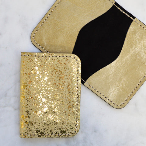 Nebula Foil Folding Wallets