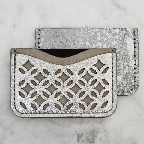 Nebula Foil Fretwork Wallets