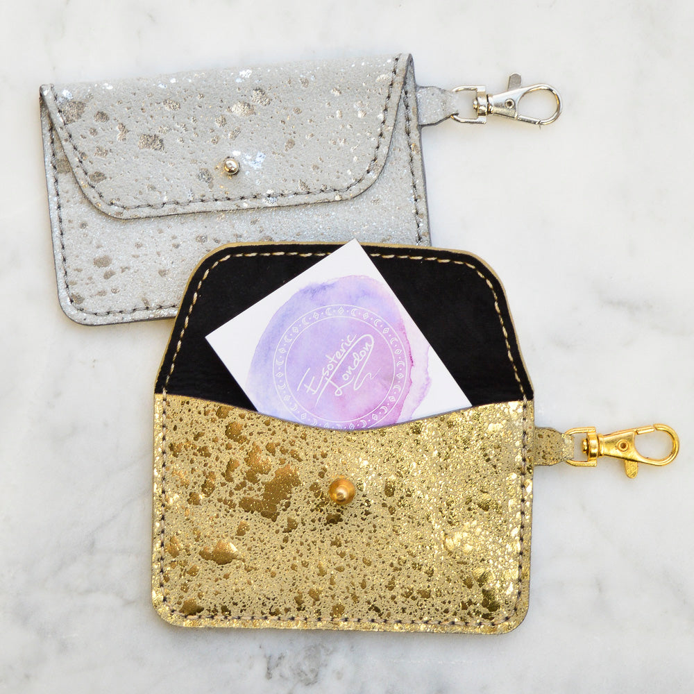 Nebula Foil Keyring Pocket Wallets