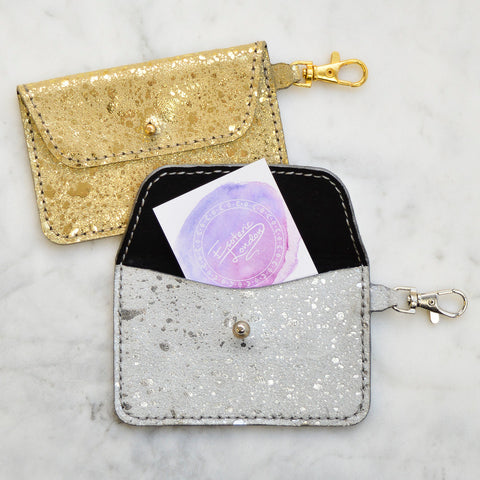 Nebula Foil Keyring Pocket Wallet