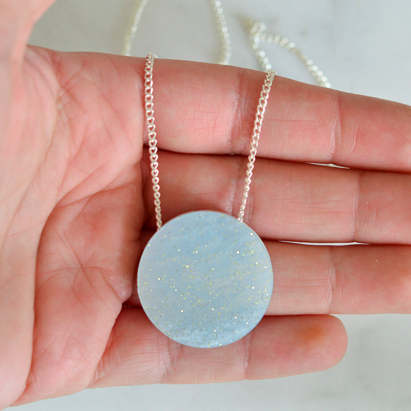 Planet Dot Necklace