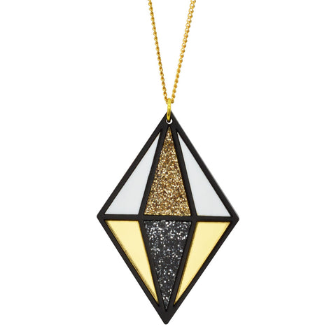 Multi Stars & Tassel Necklace