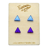 Tiny Sunburst Stud Earrings Set