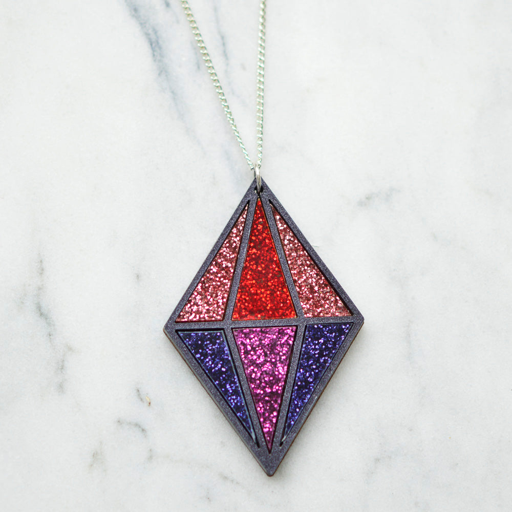 Glitter Seren Necklaces