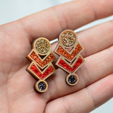 Amulet Stud Earrings