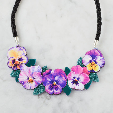 Colour Pop Bib Necklace - Confetti