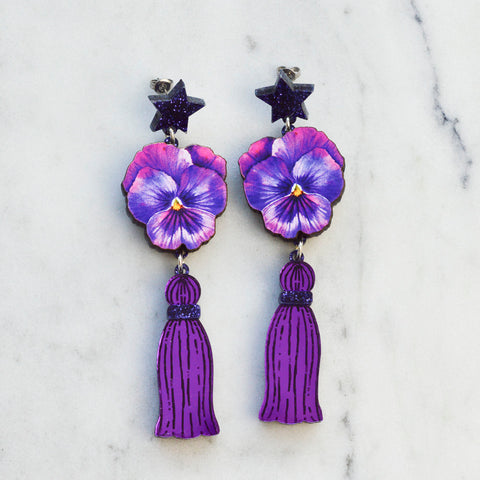 Little Geode Earrings