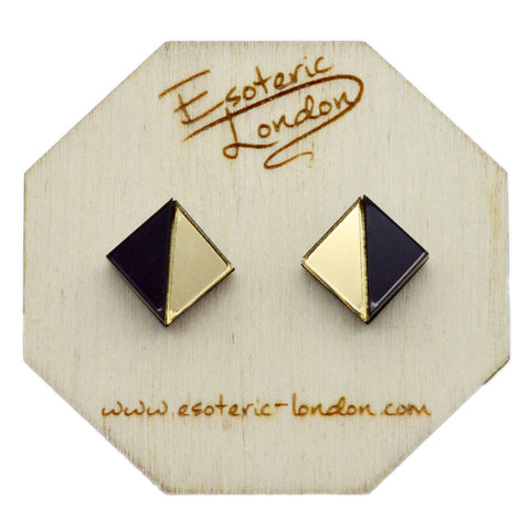 Geometric Sparkle Earrings Set