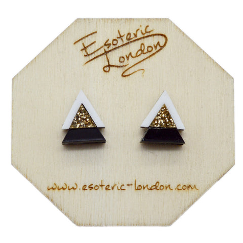 Geometric Shimmer & Sparkle Earrings Set