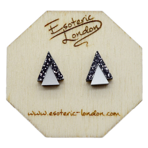 Geometric Bold Matte Earrings Set