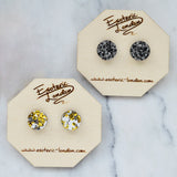 Colour Pop Studs - Granite