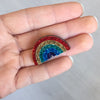 Rainbow Brooches/ Pins