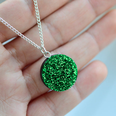 Glitter Dot Necklace