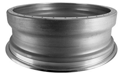 "19x8.5"" Inner Rim Half lip 40 hole, Reverse flat type, In stock!"