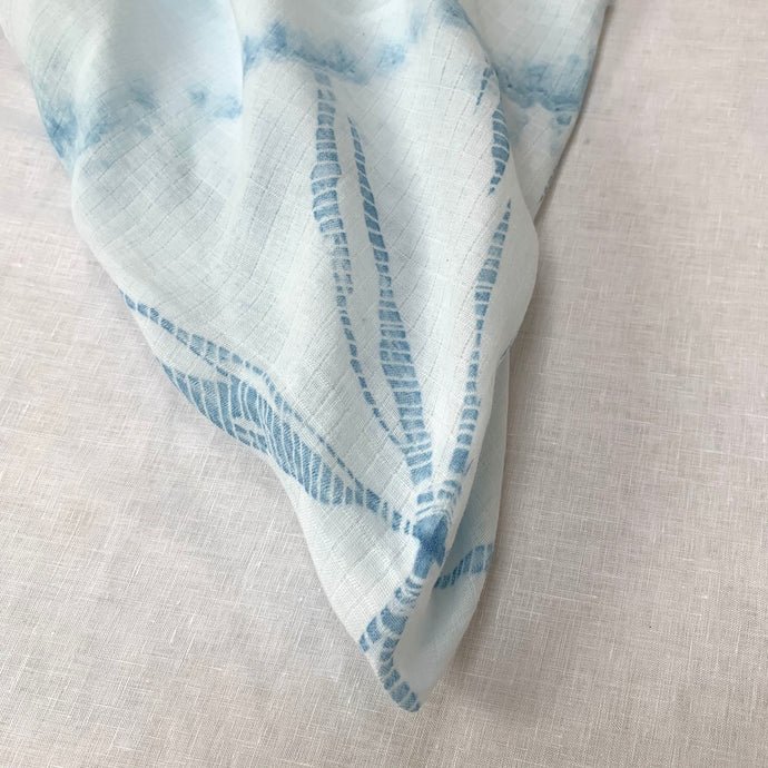 Indigo 一KUMO | WEB SINGLE Shibori Muslin
