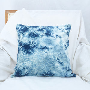 Cotton Velvet Square Pillow Cover in Crush