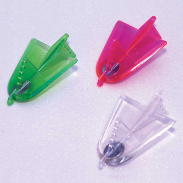 Davis Fish-Seeker Trolling Plane Chartreuse 510, Hot Pink 511, Clear 512 Bundle (3 Items)