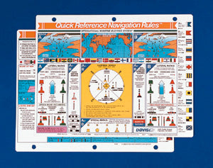 Davis Boating Quick Reference Bundle International Navigation 127, Boating Procedures 128 (2 Items)