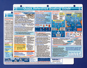 Waterproof Boating Quick Reference Cards Bundle - Navigation 125, Procedures 128 & Celestial Nav. 132 (3 Items)