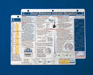 Davis Instruments Celestial Navigation Quick Reference Card