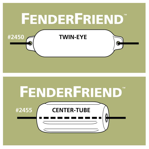 Davis Instruments Fender Friend Twin Eye, Black