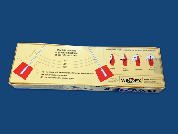 "Davis Wind Tels 1260, Windex 15"" Wind Vane 3150 with Tacking Tabs Sailing Bundle (2 Items)"
