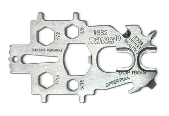 Davis Stainless Steel Snap Tool - Multi Key for Boating