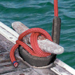 Davis Secure Removable Chafe Guard, Black (2 Pack or 4 Chafe Guards, 1 for each Dock Line)