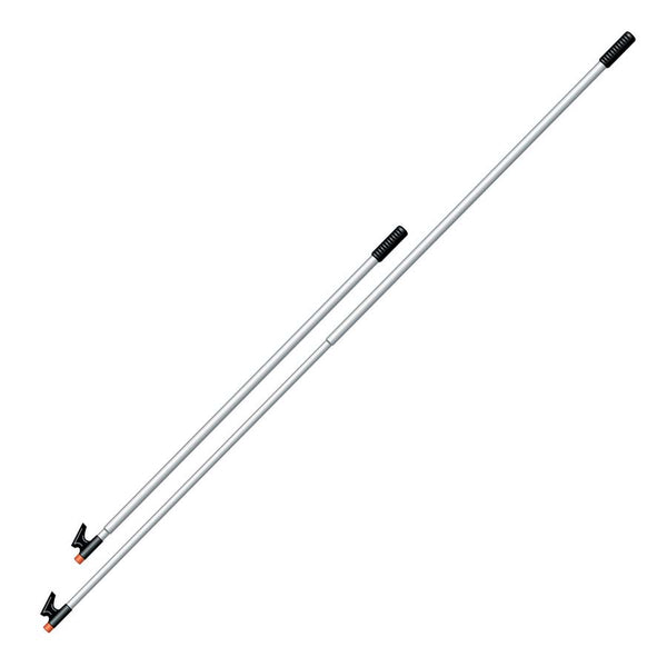 Davis Telescoping 3-Section Floatable Boat Hook, 54 in. to 12 ft long (140 to 370 cm)