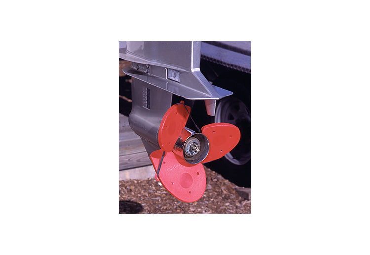 Davis Prop Sox Propeller Cover - Set of 3 - Orange