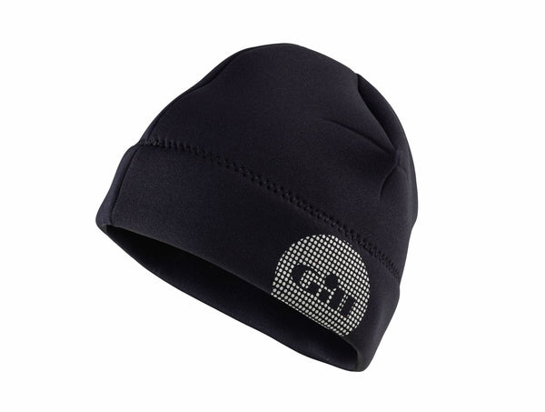 Thermoskin Neoprene Beanie - Medium/Large Black w/ Red Lining