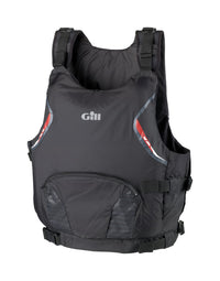 Gill USCG Approved Side Zip PFD, Large/Extra Large, Black