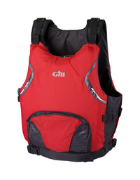 Gill USCG Approved Side Zip PFD (Small, Red)