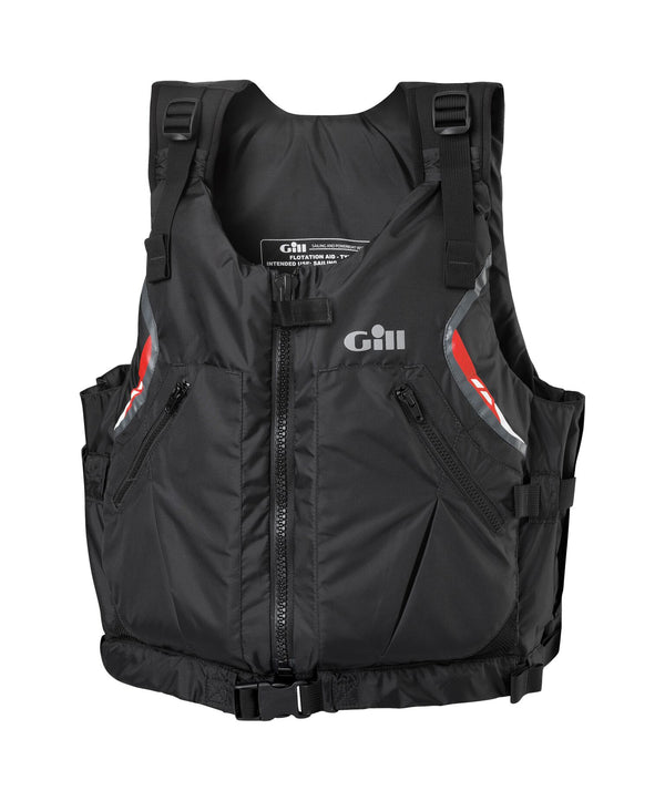 Gill USCG Approved Front Zip PFD - Black, Extra Large
