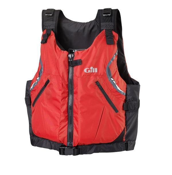 Gill USCG Approved Front Zip PFD (Red, X-Large/XX-Large) …