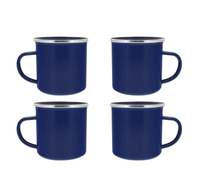 24 oz Blue Enamel Mugs