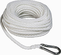 SeaSense Twisted Nylon with Thimble, 5/16-Inch X 75-Foot
