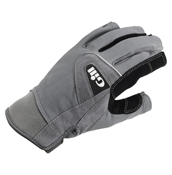 Gill Short Finger Deckhand Gloves  - Extra Small - Grey