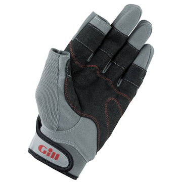 Gill Long Finger Deckhand Sailing Gloves - Extra Small - Gray