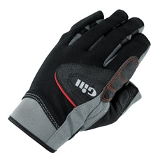 Gill Short Finger Championship Gloves - Extra Extra Large (XXL) - Black/Gray
