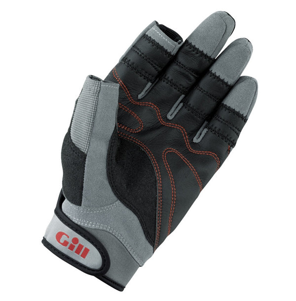 Gill Long Finger Championship Gloves - Extra Large - Black/Gray