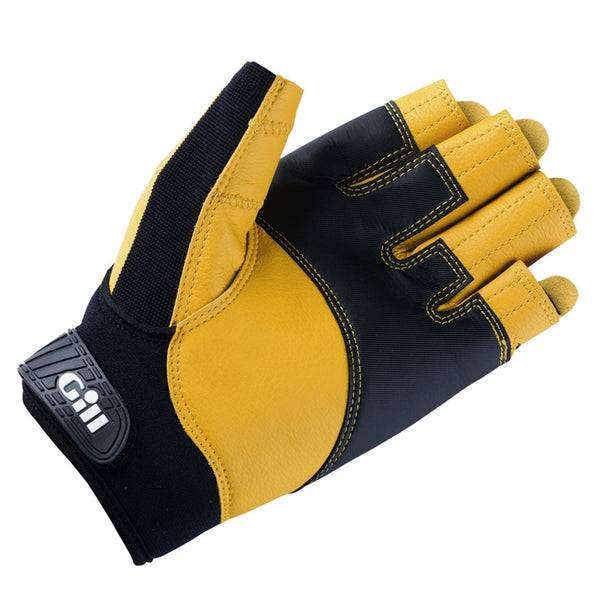 Gill Durable Short Finger Pro Sailing Gloves - Medium - 2017 Professional Model