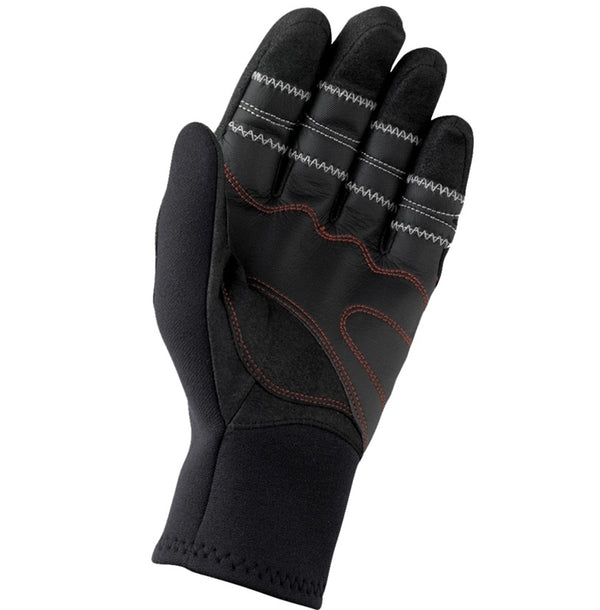 Gill Three Season Flexible Neoprene Gloves with Dura-Grip - Small Size - Black