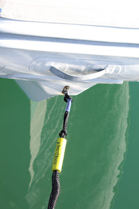 5' Bungee Dock Line - Black - Stretches to 7' - Ideal for Boats, PWC, Jet Ski, Dinghy, Kayak & Pontoon up to 4000#