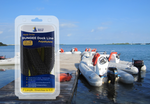 4' Bungee Dock Line - Black - Stretches to 5.5' - Ideal for Boats, PWC, Jet Ski, Dinghy, Kayak & Pontoon up to 4000#