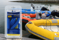 4' Bungee Dock Line - Blue - Stretches to 5.5' - Ideal for Boats, PWC, Jet Ski, Dinghy, Kayak & Pontoon up to 4000#