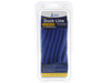 "1/2"" x 15' Blue Polypropylene Dock Line with Chafe Guard - For Boats up to 35' -  Sold Individually, Case Pack = 4"