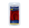 6' Bungee Dock Line - Red - Stretches to 9' - Ideal for Boats, PWC, Jet Ski, Dinghy, Kayak & Pontoon up to 4000#
