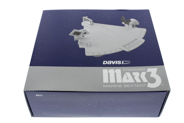 Davis Mark 3 Sextant Bundle with Artificial Horizon & Celestial Navigation Quick Reference Chart (3 Items)