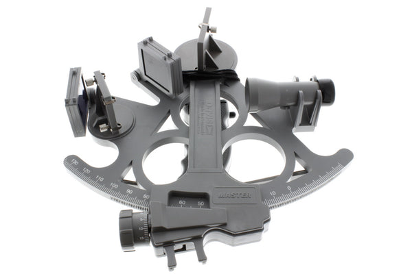 Davis Mark 25 Sextant Instrument for Navigation with Davis Artificial Horizon Bundle (2 Items)